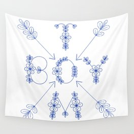 Tomboy Wall Tapestry