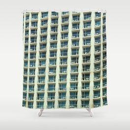 Tel Aviv - Crown plaza hotel Pattern Shower Curtain