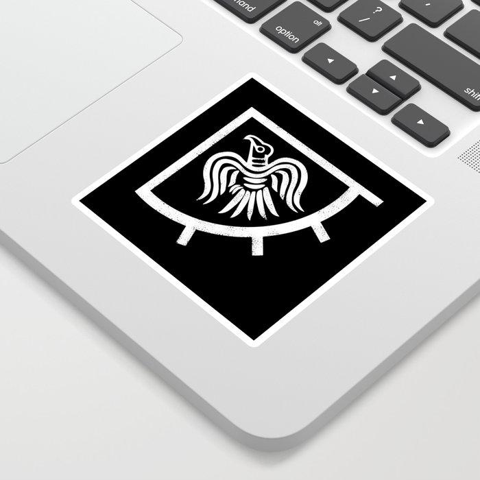 Raven banner Sticker