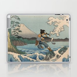 Suruga satta no kaijō Korra Laptop & iPad Skin