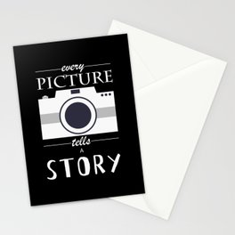 Every Picture Tells a Story - Photographer Quote Stationery Cards