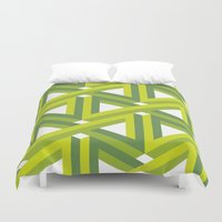 illusion Duvet Covers featuring Illusion by Isometric