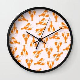 Cute Lobster Wall Clock