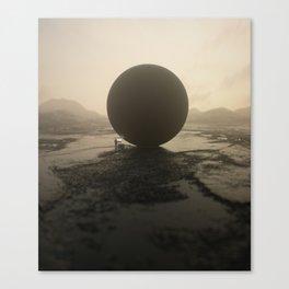 Data Sphere Canvas Print