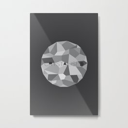 Crystalised Metal Print