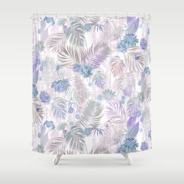 Tropical Iridescence- Pastels  Shower Curtain
