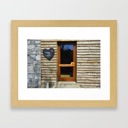 Irish Chocolate Shop Framed Art Print