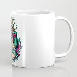 Motocycle Driver - GREEN Coffee Mug