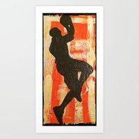 Hoop Dreams 3 Art Print