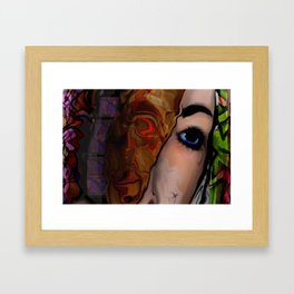 Complications of essentiality Framed Art Print