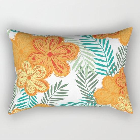 Graphic Garden 6 Rectangular Pillow