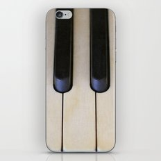Antique Piano Keys iPhone & iPod Skin