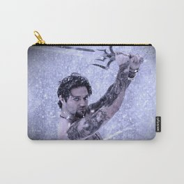 Bam Bam the Snow Warrior Carry-All Pouch