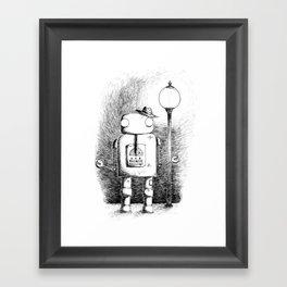 Hobo Robot Framed Art Print