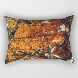 Pyroxene Crystals Rectangular Pillow