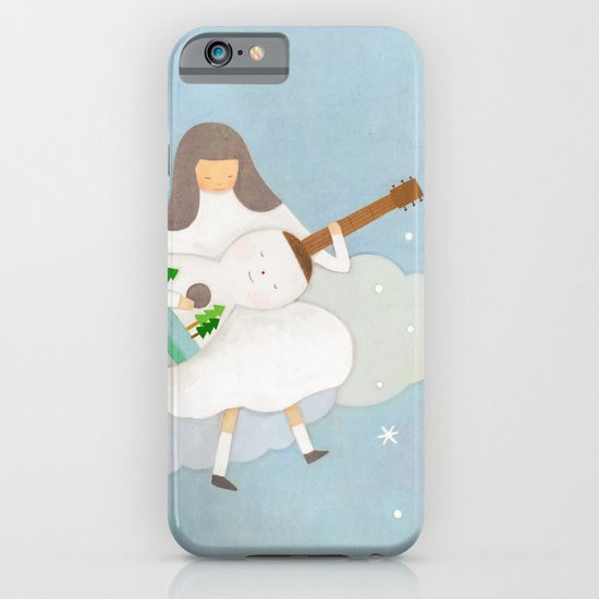 Winter play iPhone & iPod Case