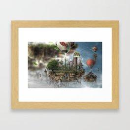 Urban Nature Remixed Framed Art Print