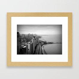 44th FLOOR Framed Art Print
