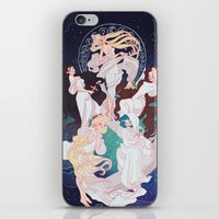 mucha iPhone & iPod Skins featuring Sailor Mucha by Dixie Leota