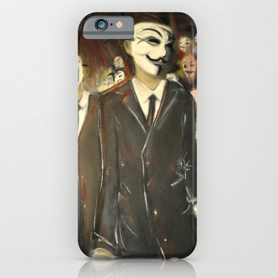 except us - Anonymous iPhone & iPod Case