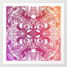 pattern series 113 Art Print