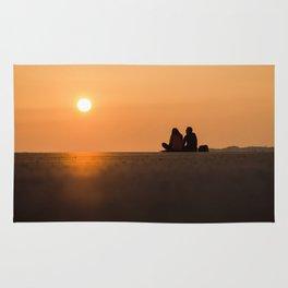 Coucher de soleil Rug