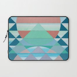 Pyramid Sun Orange Laptop Sleeve