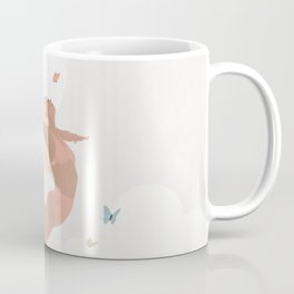 Give up the things that weigh you down and Fly Coffee Mug