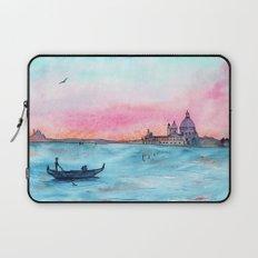 Love in Venice || watercolor Laptop Sleeve