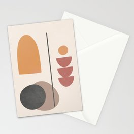 Abstract Minimal Art 02 Stationery Cards