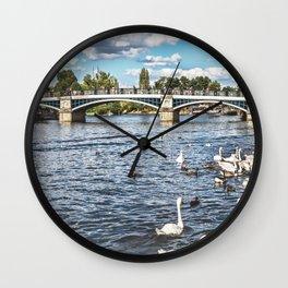 Windsor Town Bridge Wall Clock