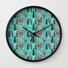 My Kind of Chicago Wall Clock