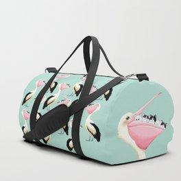 Loving Heart Pelican Duffle Bag