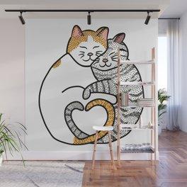 Kitty Love Wall Mural