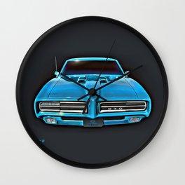 Bonnie Blue 1969 GTO Wall Clock