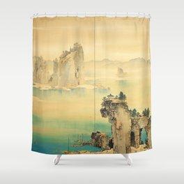 Good Omen - Yamamoto Shunkyo Shower Curtain