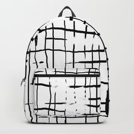 damaged grid Backpack