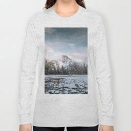 Yosemite Winter Wonderland Long Sleeve T-shirt