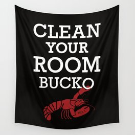 Jordan Peterson - Clean Your Room Bucko Wall Tapestry