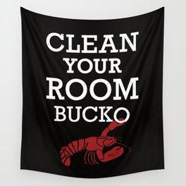 Jordan Peterson - Clean Your Room Bucko Wall Tapestry