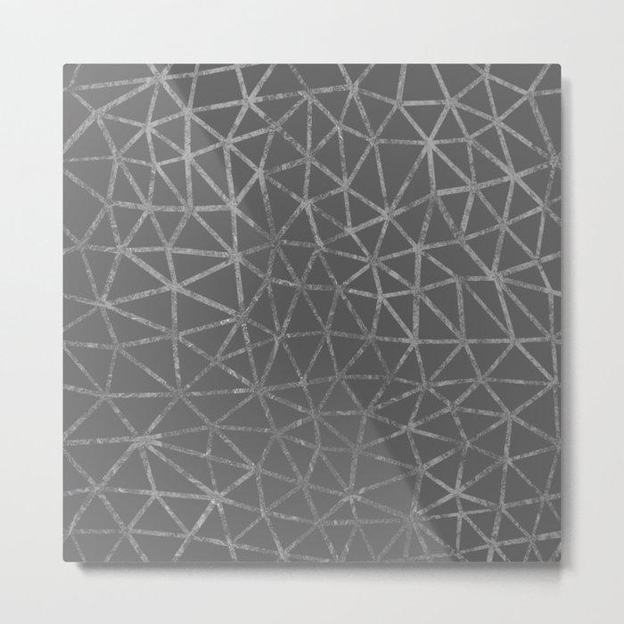 Seg Marble Metal Print