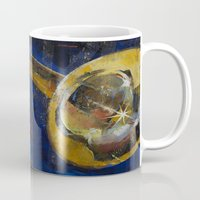 trumpet Mugs featuring Trumpet by Michael Creese