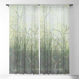 Minimal Flora - Hanging Garden Sheer Curtain