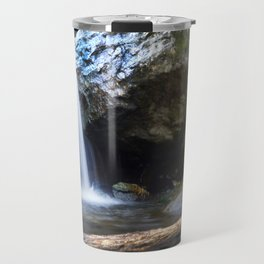 Waterfall at Cascade Falls Travel Mug