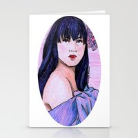 blanket Stationery Cards featuring Blanket by Margret Stewart