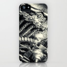 Machine Part BNW Abstract II iPhone Case