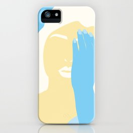 winter sadness iPhone Case