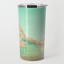 Santa Cruz Boardwalk Travel Mug