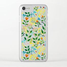 All you need is fLOVErs Clear iPhone Case