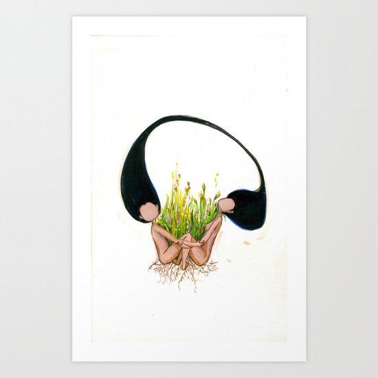 Garden of Hope Art Print